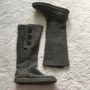 UGG Cardy knitted tall boots